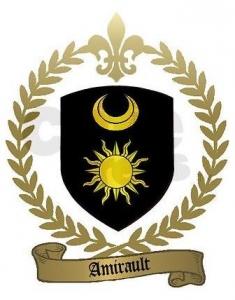Amirault Crest